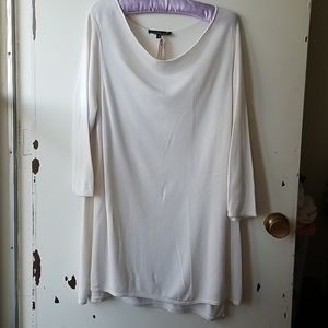 Laura White 3/4 Sleeve Scoop Neck Sweater Size 1X